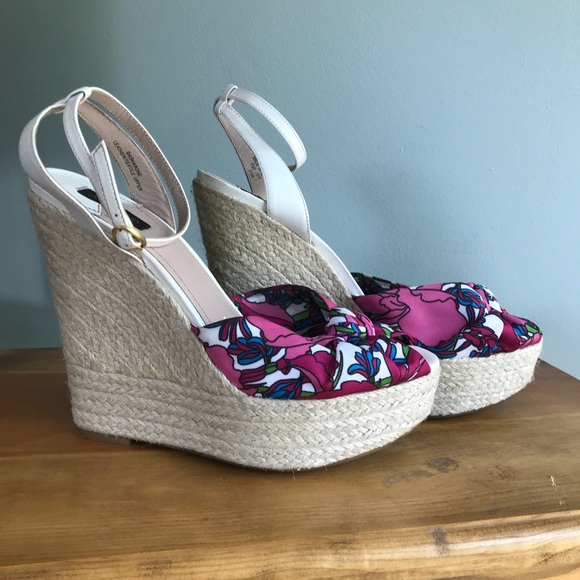 Joan & David Shoes - 🏆 Host Pick 🏆 Joan & David floral espadrilles